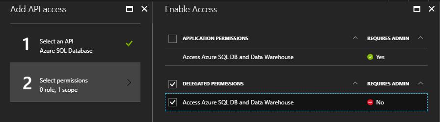 Grant SQL Permissions