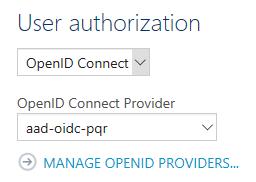 Configure Authorization
